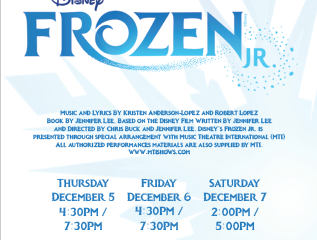"OIS Bulldog Theater Presents ""Frozen Jr"""