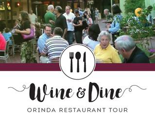 Orinda Restaurant Tour is Back!