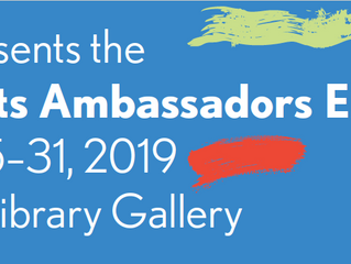 Save the Date: Arts Ambassador Exhibit