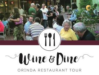 Orinda Restaurant Tour