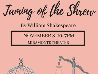 Fall is here...and so is Miramonte's Fall Drama Production!