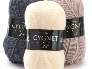 Cygnet DK: Your number one yarn for deluxe double knitting