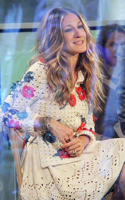 7. I can't decide if this is bad or genius. I'm fairly certain that this would be a serious mistake if anyone other than SJP wore it.