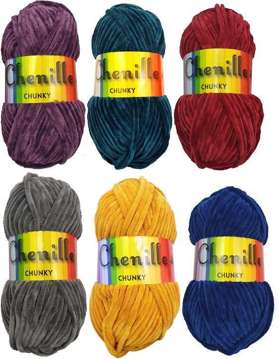 Cygnet Chenille Yarn
