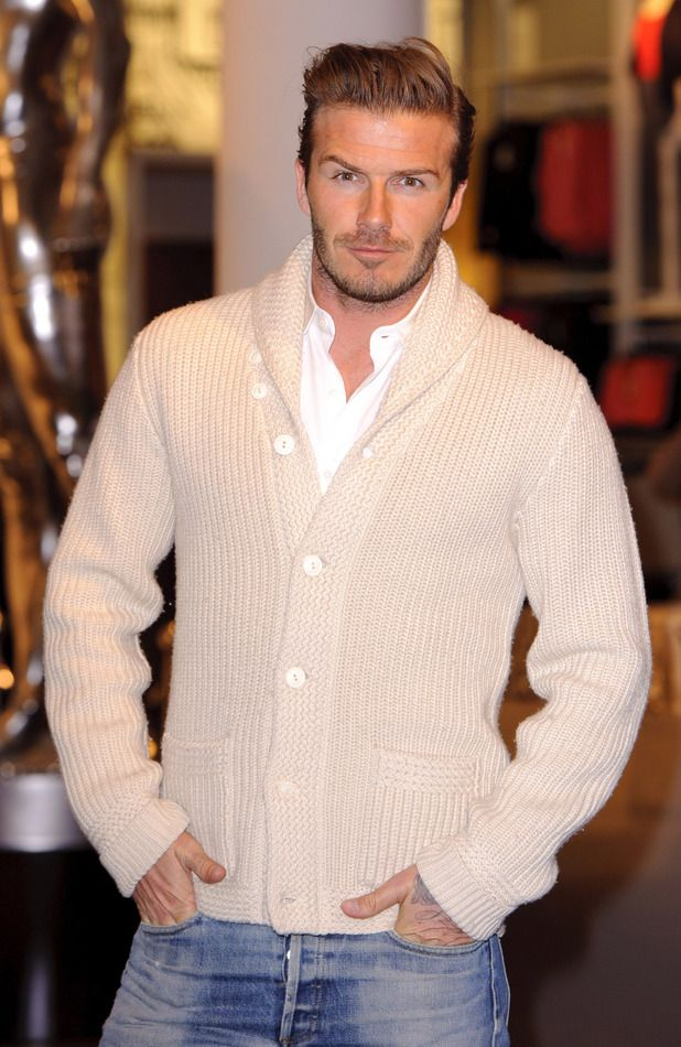 7. Beckham would look good in anything to be fair