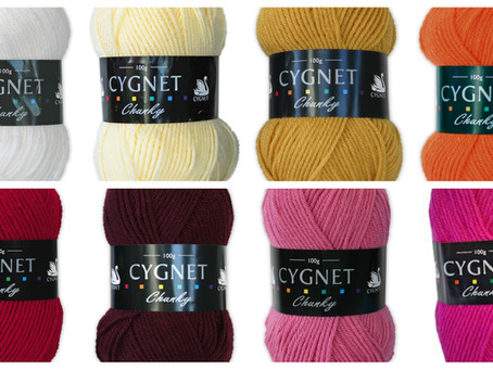 Cygnet Chunky: 100% Acrylic, 100% Number one choice for Chunky