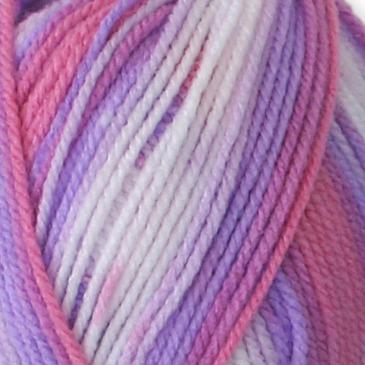 Cygnet Kiddies Couture DK Print Double Knitting Yarn 100g 090 Blossom Stripe