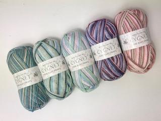 New Baby Yarn ...Cygnet Pure Baby Prints