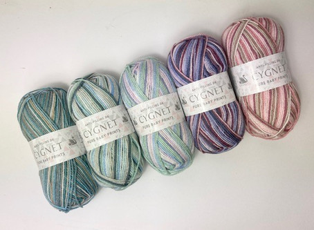 New Baby Yarn ...Cygnet Pure Baby Prints