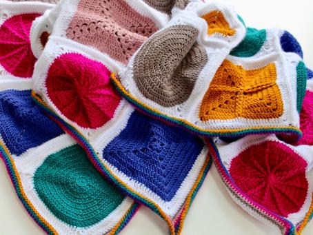 Geo-Boho Crochet Along
