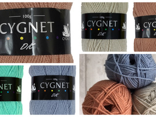 New Shades in our favourite Cygnet ranges
