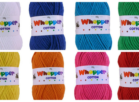 Whopper Cotton - May's Recommended Yarn of the Month
