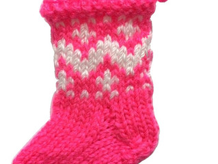 On the eleventh month of #knitmas Cygnet Yarns gave to me: perfect Christmas stockings