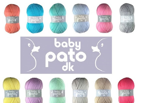Baby Knitting & Crochet with Baby Pato DK - June's recommended Yarn of the Month
