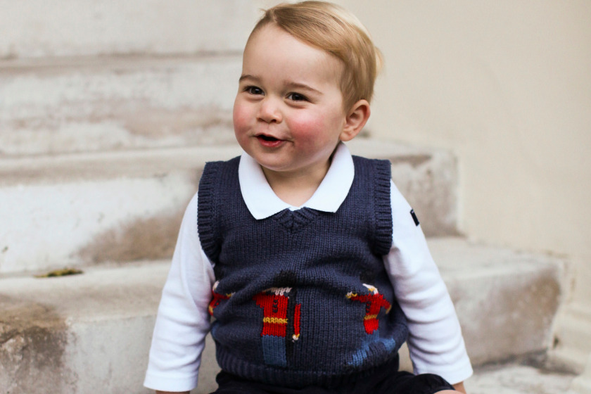 1. Prince George tops the list! I adore this top! This Cath Kidston tank top sold out immediately after these photos were published. I've made one for my son and it rocks.