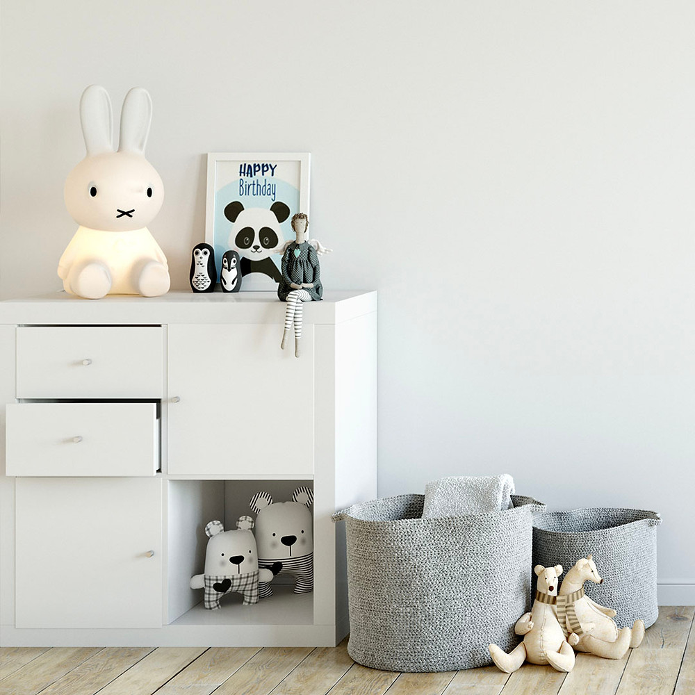 Storage bins for baby clothes