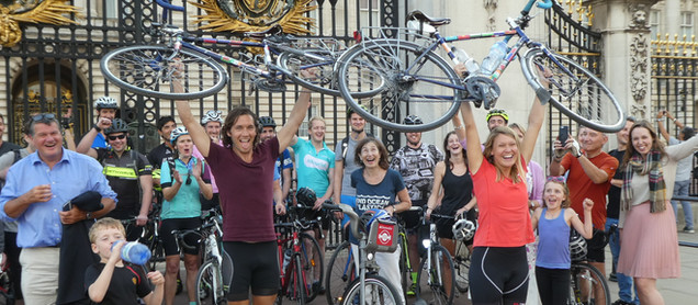 The secret diary of a round the world cycle