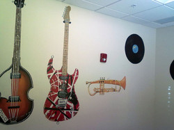 Music Room Mural