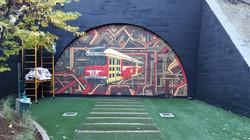 Belmont Station Mural