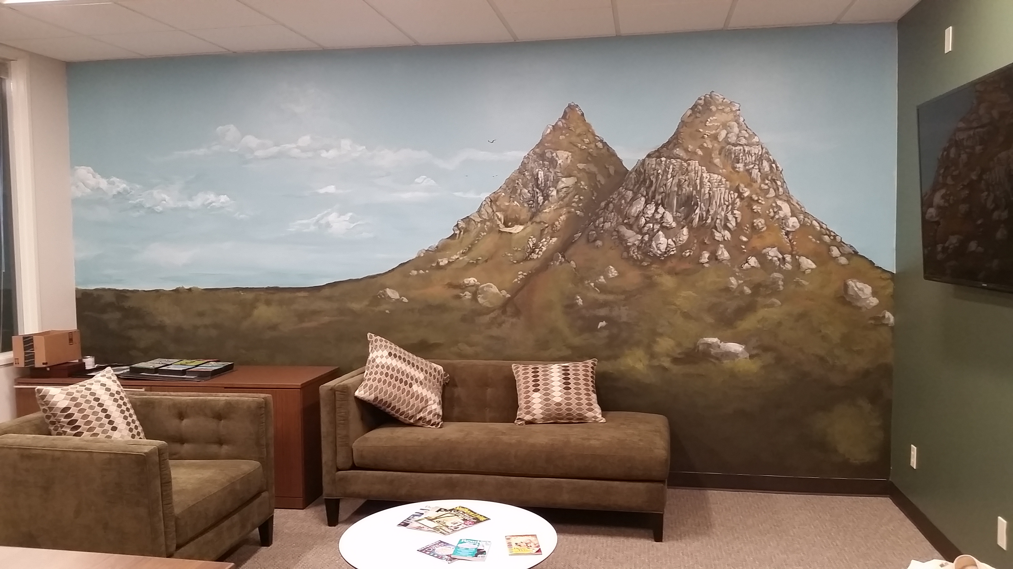 Mission Trails Financial Mural
