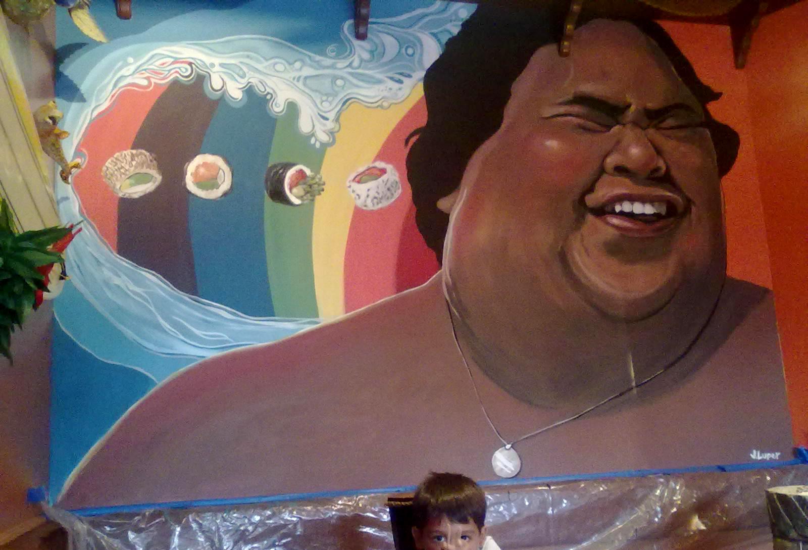 Tuna Shack Mural