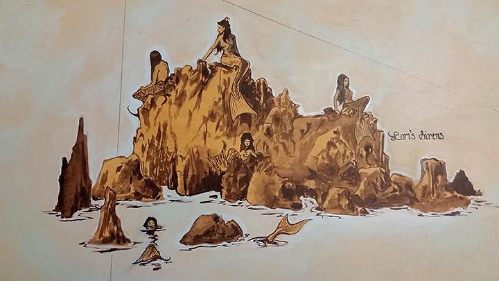 Completed Mermaid Island