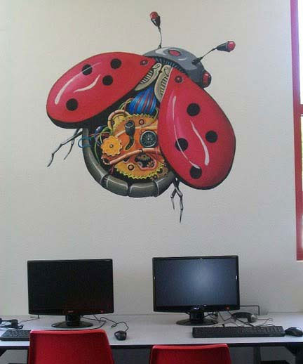 Techn Lady Bug