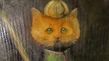 That Time I Painted Greg Proops Imaginary Cat