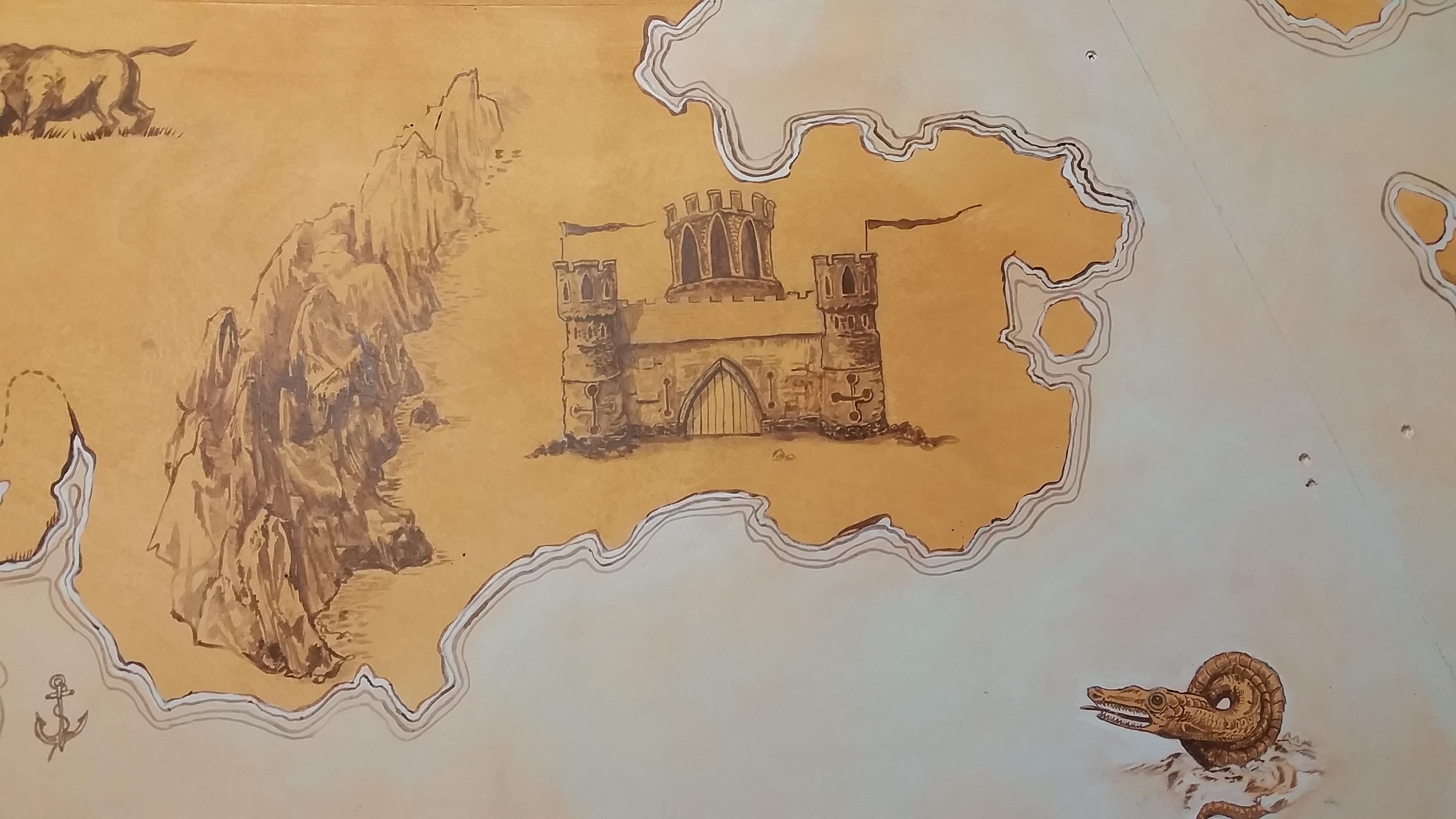 Treasure Map Castle