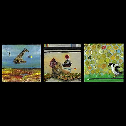 3 Micro Set | Animals