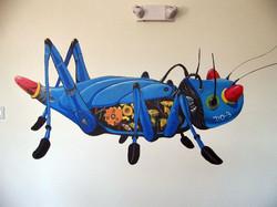 Techno Bug Mural
