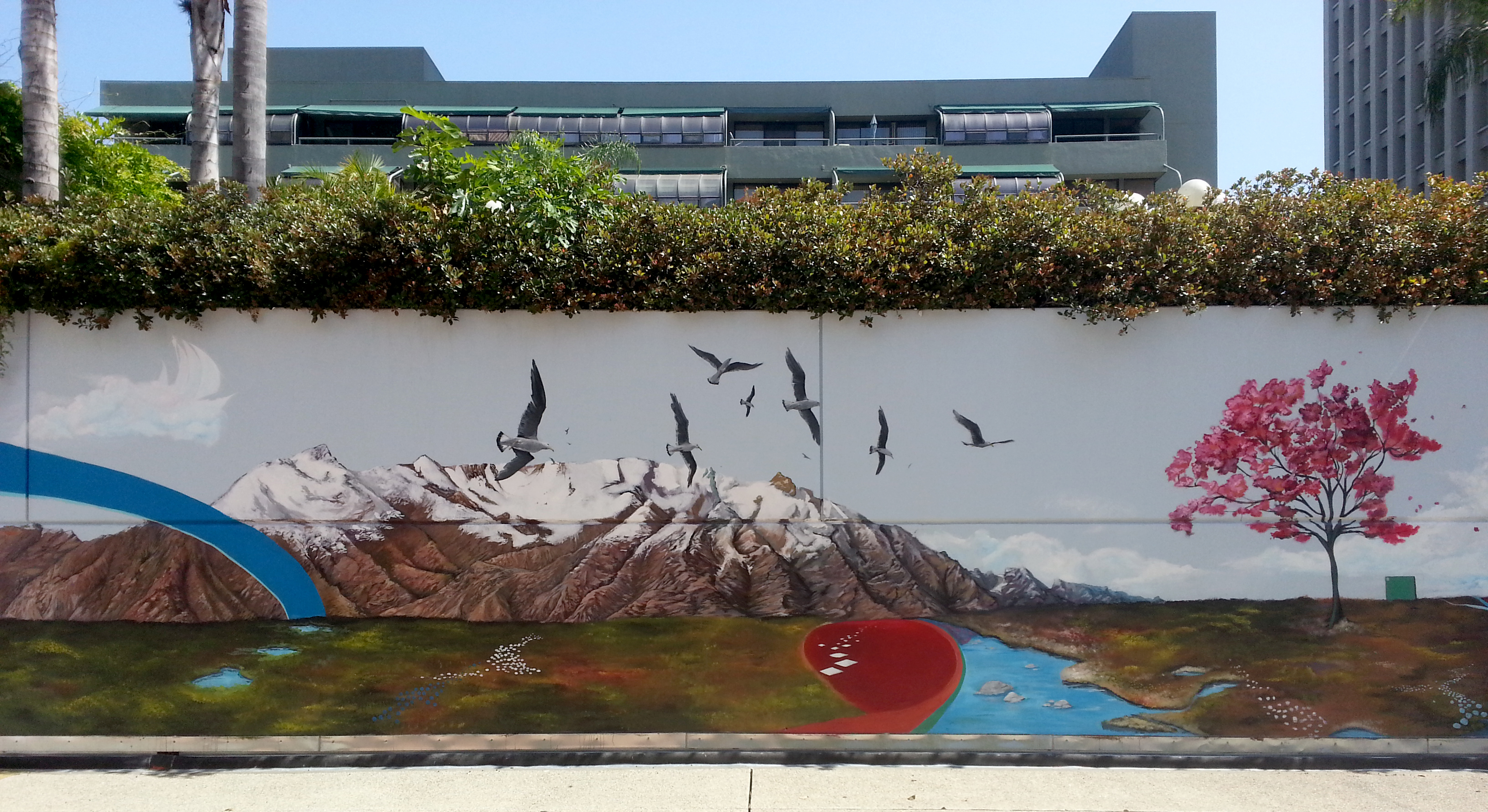 Mountains and Seagulls