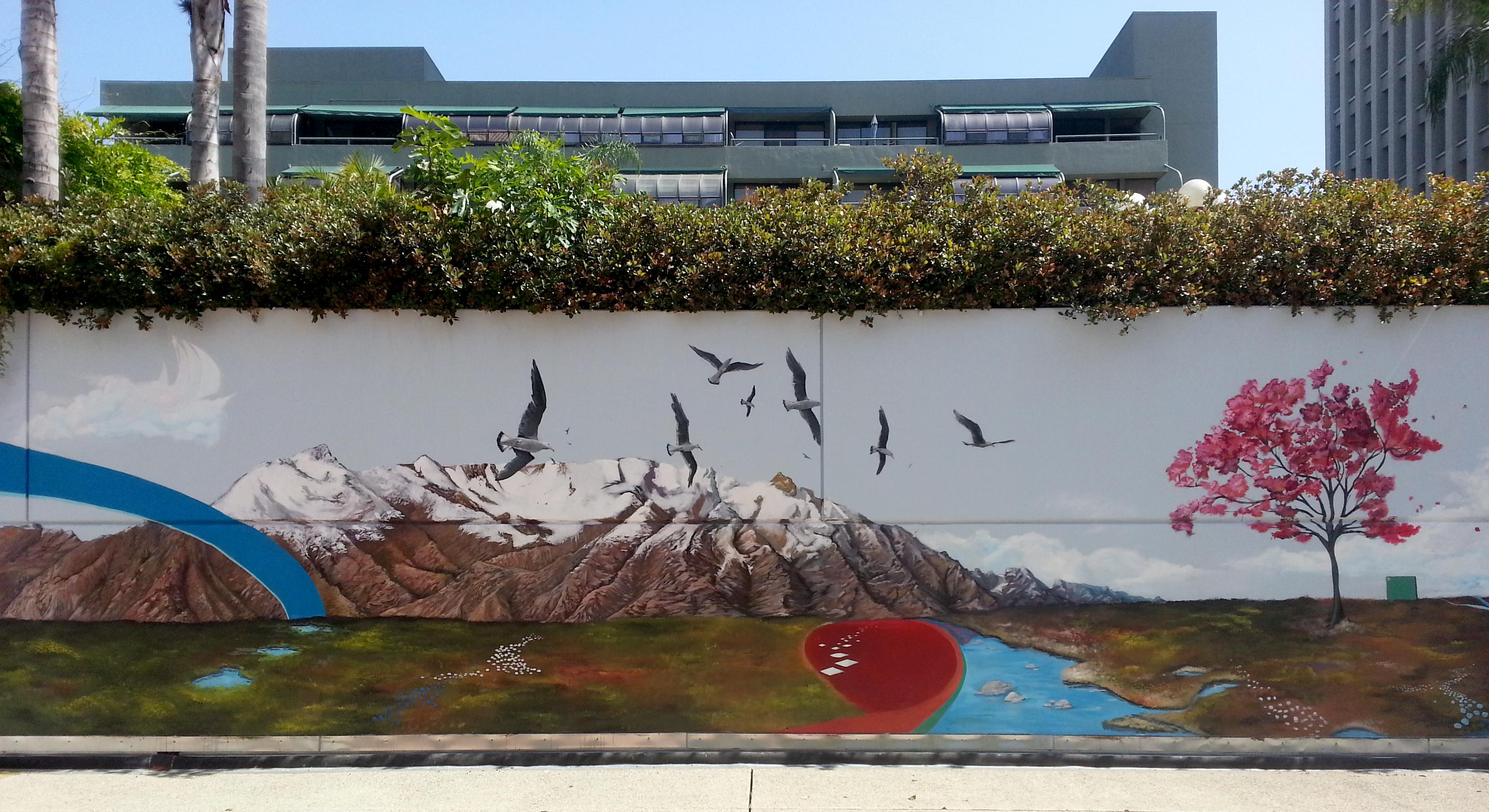 Bunker Hill Towers Mural