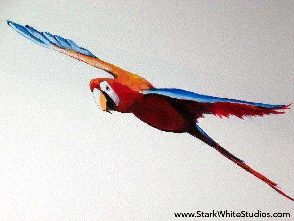 Parrot Mural