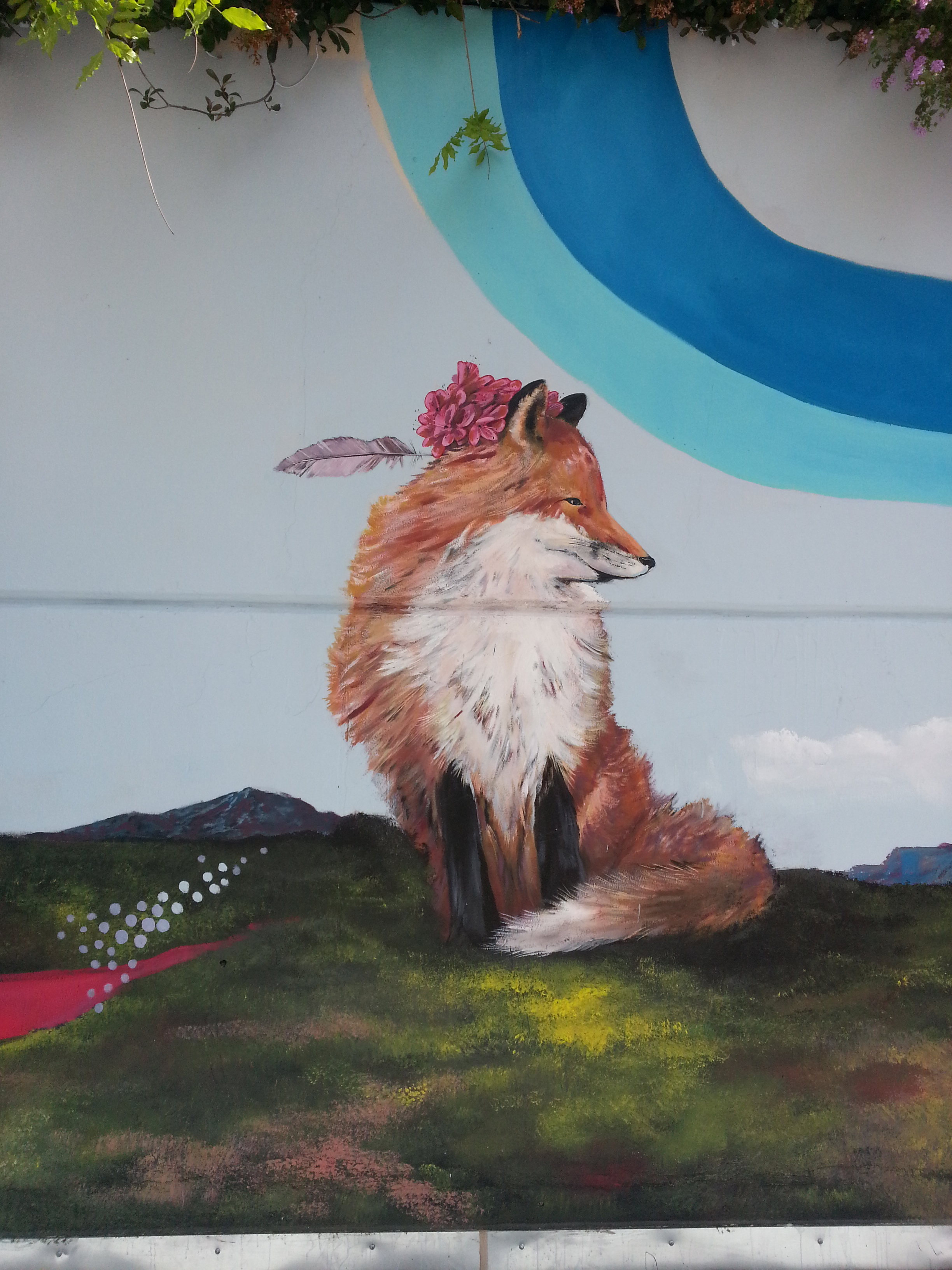 The Fox of the Mural