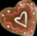 Hart van de chocolade