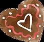 coração do chocolate
