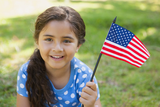 Give A Kid A Flag To Wave