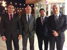 Joinville participou da Conferência Internacional de Administração Judicial e Falência, em San Diego