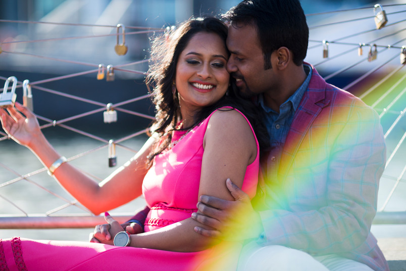 Pratima and Pramukh- Brooklyn Bridge Engagement shoot