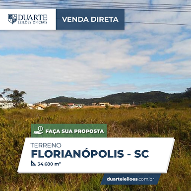 Terreno - Florianópolis, SC