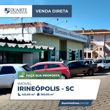 Imóvel - Irineópolis, SC