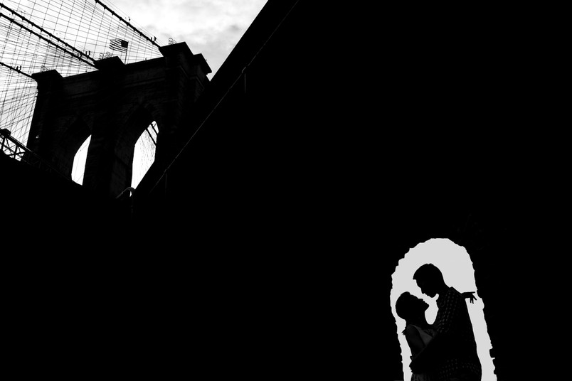Karen and Dorian, Dumbo Engagement shoot