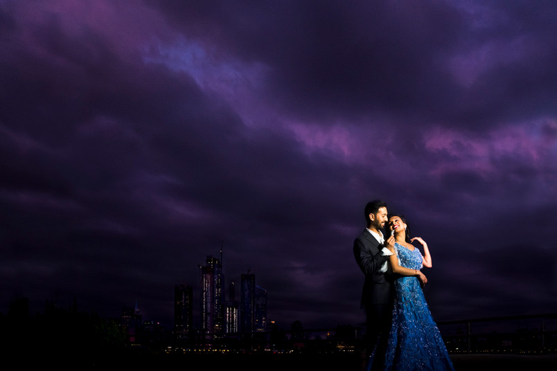 Mukti and Aanand- Weehawken Engagement session