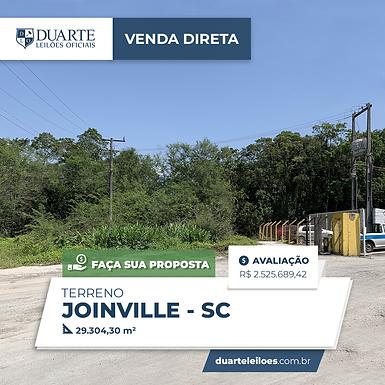 Terreno - Joinville, SC
