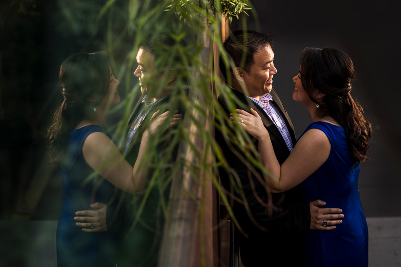 Jihye and John, Highline engagement shoot