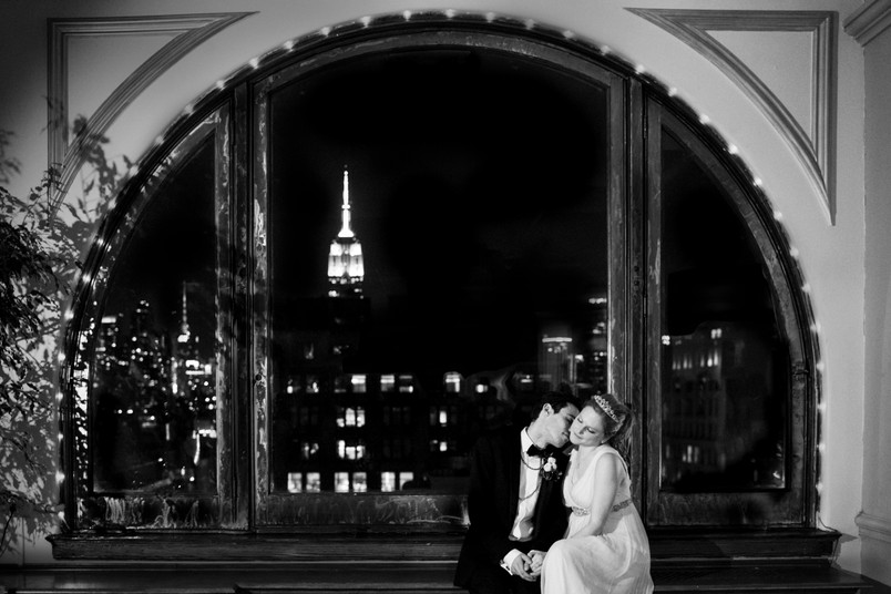 Meredith and Brandon Manhattan Penthouse Wedding