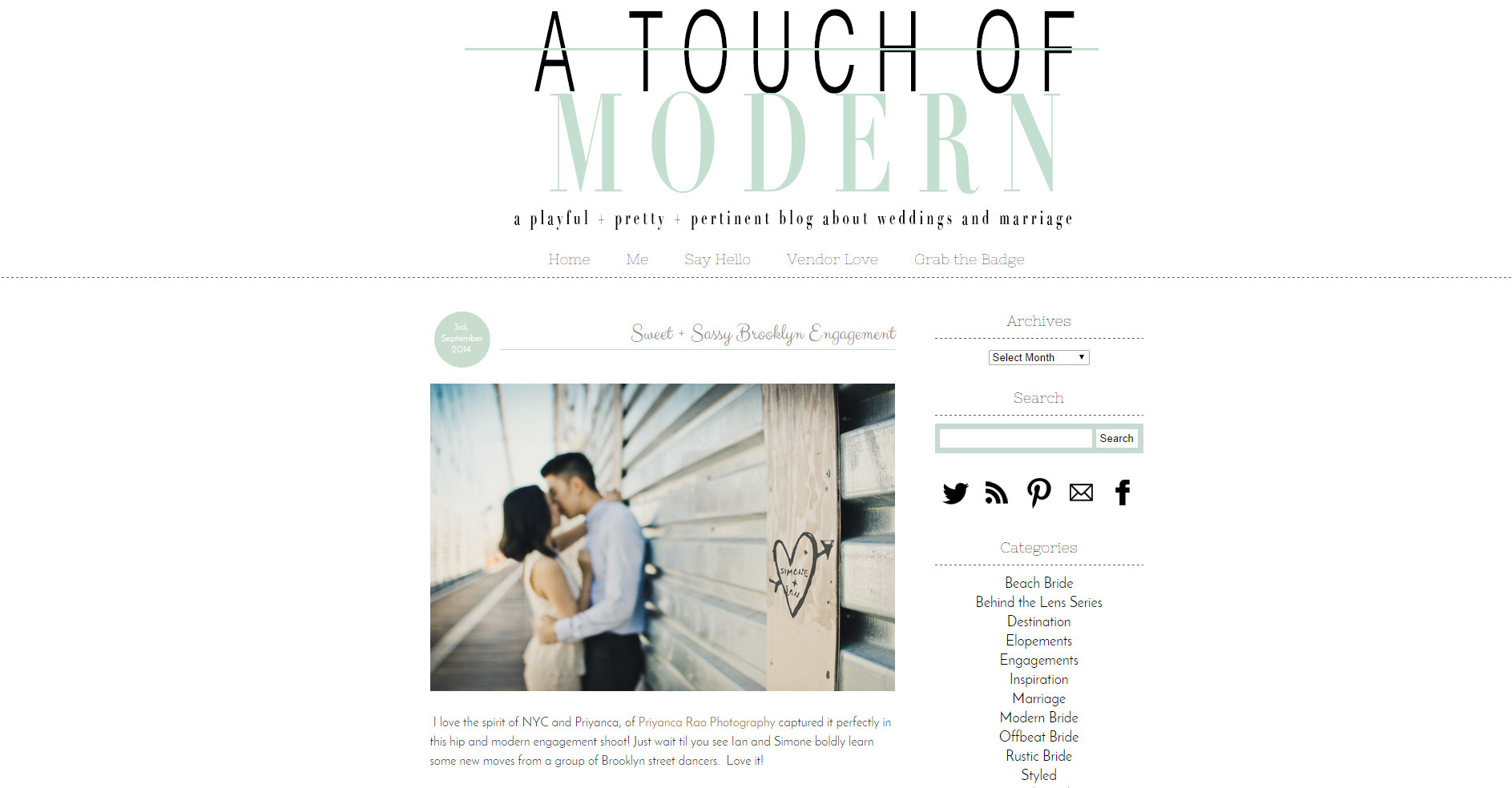 A Touch Of Modern