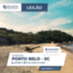 Terreno em Porto Belo   Leilão