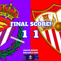 Last gasp disaster as Sevilla snatch a point